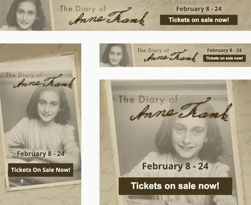 Anne Frank Ads