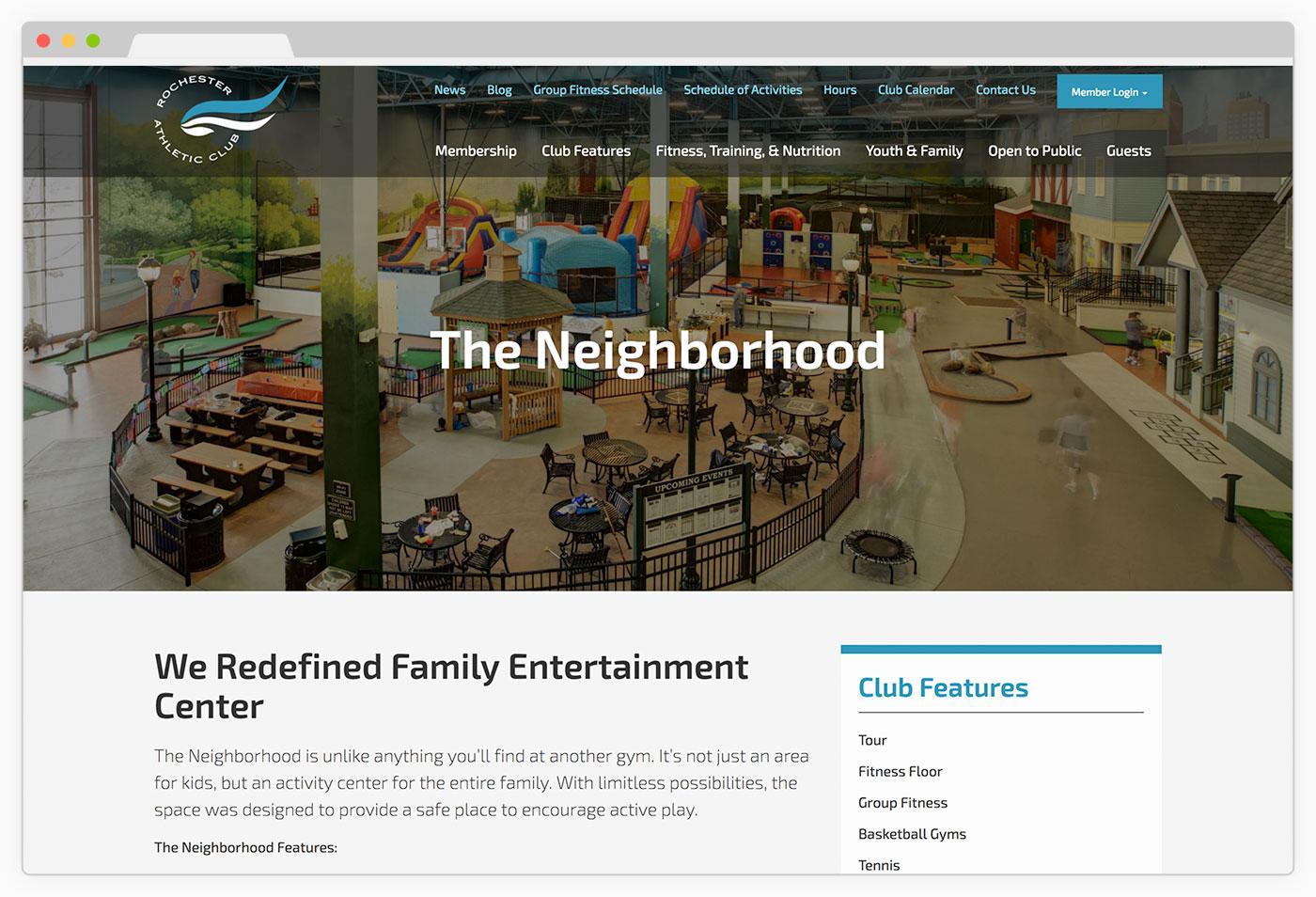 RAC Website