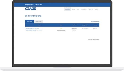 Client Support Portal