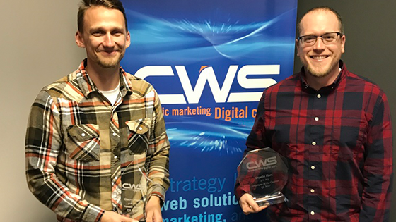 CWS Recognizes Three Outstanding Employees at Quarter Three Alignment Meeting